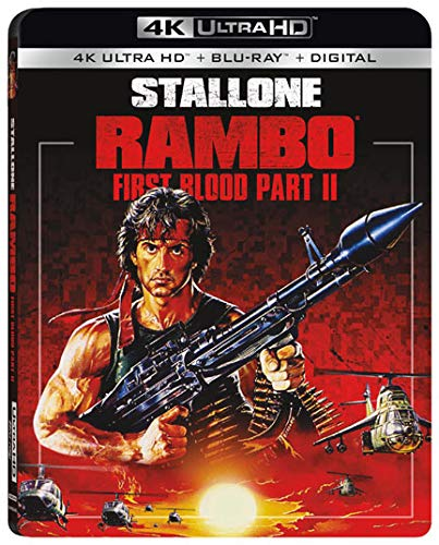 4K Blu-ray : Rambo: First Blood Part Ii (With Blu-ray, 4K Mastering, Digital Copy, 2 Pack)