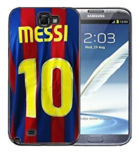 For Iphone 5C Case Cover BlackLionel Messi Barcelona Jersey #10 Soccer Futbol futsal FCB