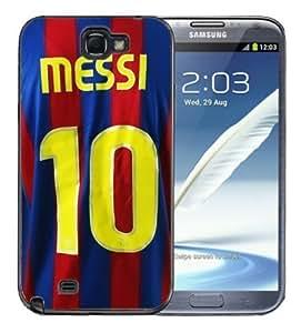 For Iphone 4/4S Case Cover BlackLionel Messi Barcelona Jersey #10 Soccer Futbol futsal FCB