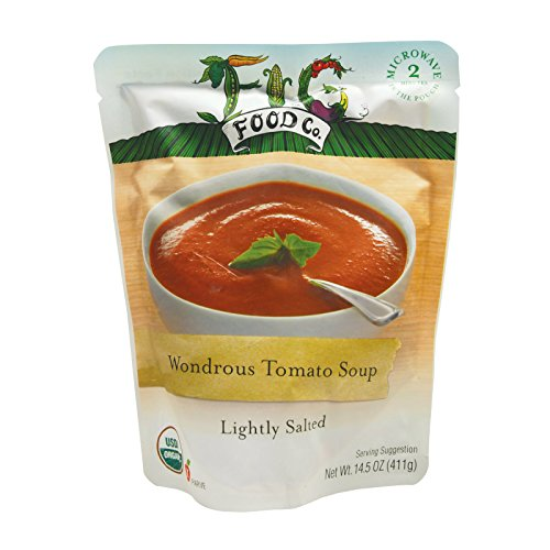 Organic Salted Tomatoes - Fig Food Organic Wondrous Tomato - Lightly Salted - Case of 6-14.5 oz.
