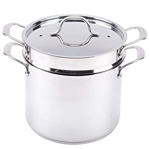 Update International SDPC-08 Self Draining Pasta Cooker, S/8 Quart