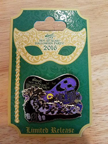 Disney Parks Mickey's Not So Scary Halloween Party 2016 Logo Pin! Limited Release!