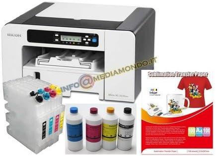 Ricoh Aficio SG3110DN - Impresora de sublimación (A4, Impresora ...