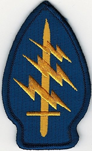 Blue Yellow Color US Army Special Forces Command SSI Patch V