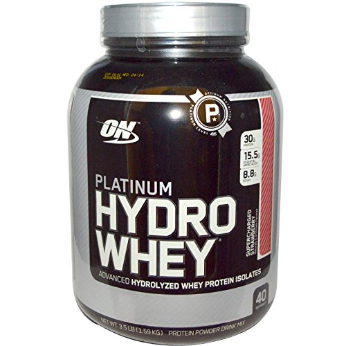 Optimum Nutrition Hydrowhey Supercharged Strawberry
