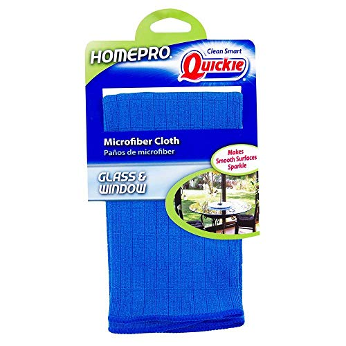 (Quickie Glass & Window Microfiber Cleaning Cloth - Reusable 1 Pack (470636))