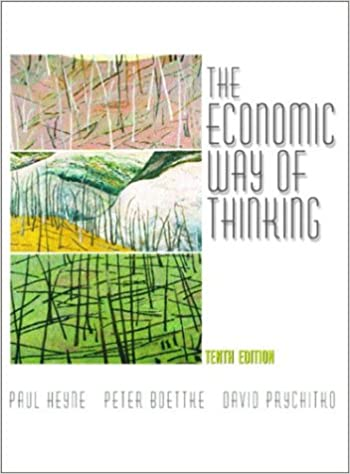 The Economic Way of Thinking (10th Edition): 9780130608109 ...