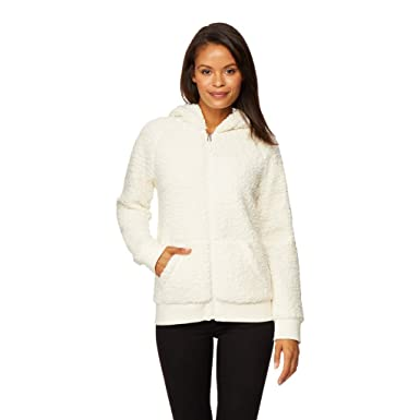 32 DEGREES Womens Teddy Bomber Hoodie at Amazon Women s Clothing store  8dcc6edda