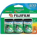 Fujifilm Advanced 400 Speed 25 Exposure APS Film - 3 Pack