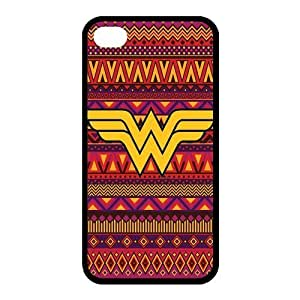 Customize Cartoon Wonder Woman Back Cover Case for iphone 4 4S Protect Your Phone