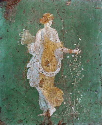 Toile Sur Châssis 40 X 49 Pompei Peinture Murale De