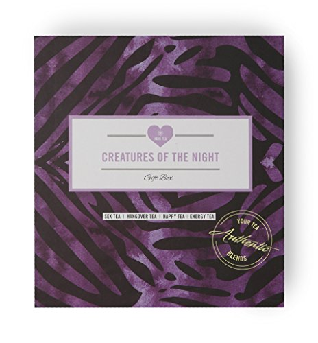Creatures of the Night Gift Box - Energy, Hangover, Sex, Happy Tea. Your Tea Natural Blends. Created by Traditional Chinese Medicine Practitioners.