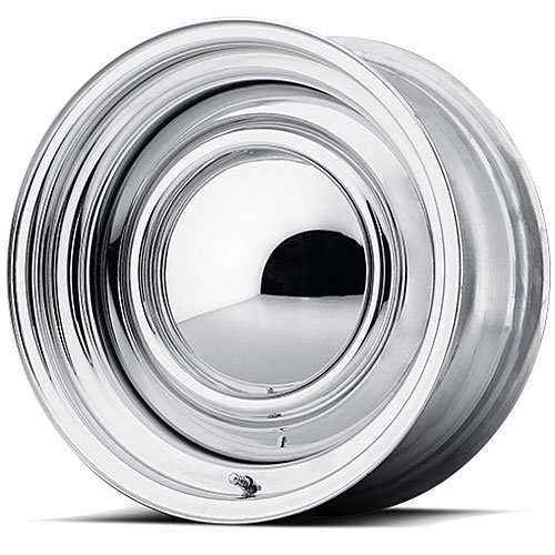 Price comparison product image 15 Inch 15x7 American Racing wheels wheels SMOOTHIE Chrome STEEL wheels rims