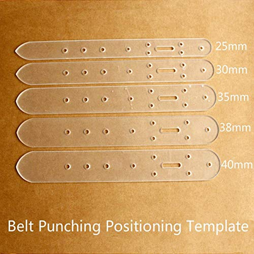Punching - Dx 13 Belt Punching Positioning Template Vegetable Tanned Leather Perforated Plate Acrylic Version - Acrylic Pattern Case Leather Tool Belt Machine Hole Plier Xiaomi Punch Plus Etonwe from JamillShop