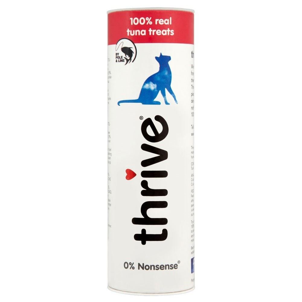 Thrive 100% Real Tuna Cat Treats (25g) Pack of 6