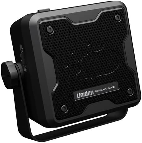Uniden BC23A Bearcat 15-Watt Amplified External Communications Speaker. Durable Rugged Design, Perfect for Amplifying Uniden Scanners, CB Radios, and Other Communications Receivers.