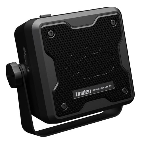 Mic Wiring Cb Radio (Uniden (BC23A) Bearcat 15-Watt Amplified External Communications Speaker. Durable Rugged Design, Perfect for Amplifying Uniden Scanners, CB Radios, and Other Communications Receivers.)