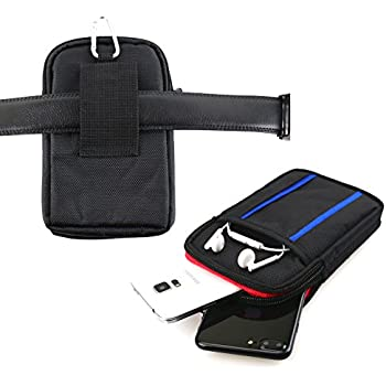 info for cd4a4 eff38 Dual Phone Case for Two Phones, Belt Loop Cell Phone Holder Mobile Carrying  Holster Fits 2 iPhone 6/7/8 Plus, X, Galaxy S8/S9 Plus, LG - Tactical ...