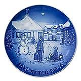 Bing & Grondahl 1016858 Christmas Plate 2016