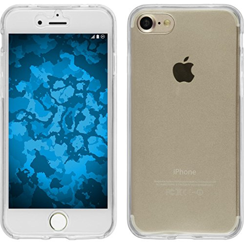 Coque en Silicone pour Apple iPhone 7 - 360° Fullbody transparent - Cover PhoneNatic Cubierta Case