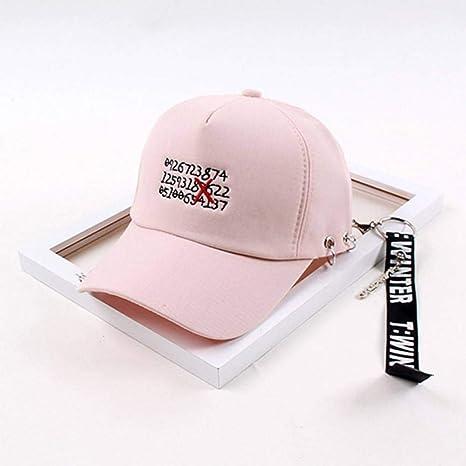 WYLBQM Sombrero Carta de Novedad Coreana Gorras para Hombres ...