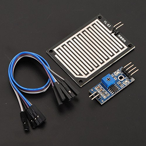 ILS - 2 pieces Snow Raindrops Humidity Weather Detect Sensor Module For (Detect Board)