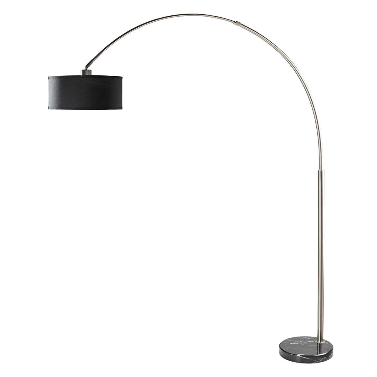 milton greens stars sophia adjustable arc floor lamp with marble base ebay. Black Bedroom Furniture Sets. Home Design Ideas