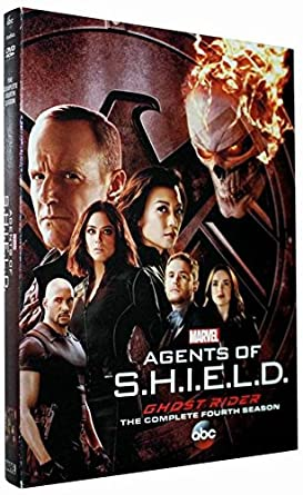 Marvel agents of shield season 4. DVD. The complete 4th season New Sealed