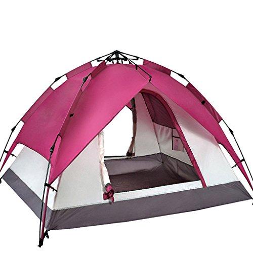 ステンレス確認する伝染性のZP テント、自動厚い防水キャンプ場屋外テント huwaizhangpeng