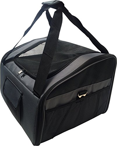 Dog Pet Car Booster Seat Travel Carrier Bag Tote with Carrying Bag