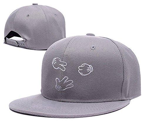 LIFA Rock Paper Scissors Hat Embroidery Snapback Cap