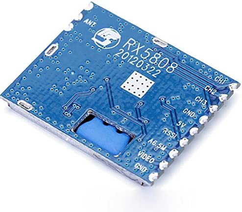 RX5808 Receiving Module FPV 5.8G Wireless Audio Video Receiving Module for FPV Multicopter