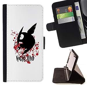 Momo Phone Case / Flip Funda de Cuero Case Cover - Raid Noche;;;;;;;; - Apple Iphone 4 / 4S