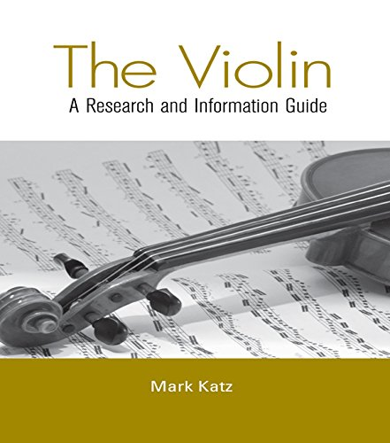 Mark Katz, Ph.D. Publication