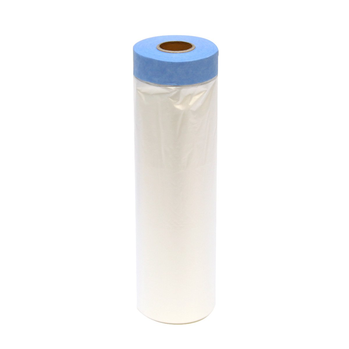 Easy Mask Tape & Drape Pre-Tape Masking Film 3.94 x 72 feet with 14 day PerfectEdge Tape by Easy Mask (Image #2)