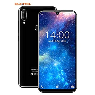 "OUKITEL C16 Unlocked Phones, 16GB+2GB RAM Dual Sim Unlocked Smartphones with Face Recognition & Fingerprint Unlock 5.7"" HD+ Android 9.0 8+5MP Dual Camera 2600mAh Battery (International)"