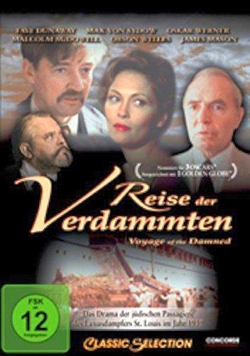 Cover: Reise der Verdammten 1 DVD (circa 151 min), Flüchtlingsdrama