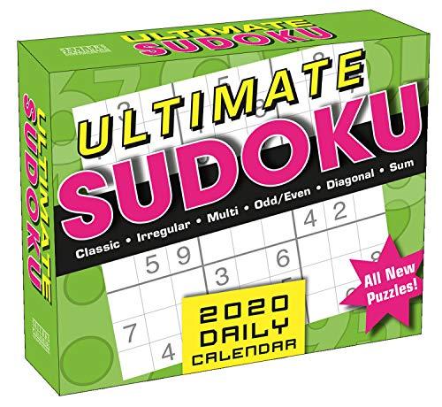 - Ultimate Sudoku 2020 Boxed Daily Calendar