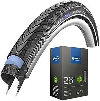 Schwalbe Marathon Plus 1 47 – 559 – Cubiertas para bicicleta (26 x ...