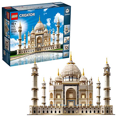 LEGO Creator Expert Taj Mahal 10256 Building Kit and Architecture Model, Perfect Set for Older Kids and Adults (5923 Piece)