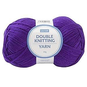 Lincraft DK Yarn 8ply, Purple- 100g Acrylic Yarn