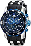 Invicta Men's 17878 Pro Diver Analog Display Swiss Quartz Black Watch