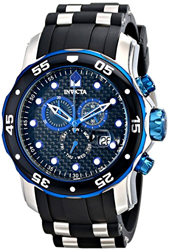Invicta Men's 17878 Pro Diver Analog Display Swiss Quartz Black Watch ()
