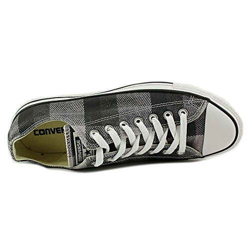 Converse Unisex Chuck Taylor CT Ox (Plaid) Sneaker BLACK/WHITE-PLAID PkuriA1WlQ