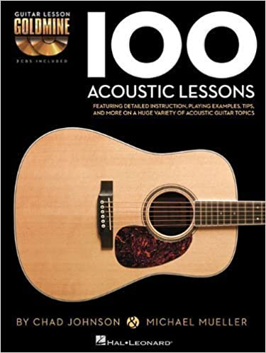 Book 100 Acoustic Lessons: Guitar Lesson Goldmine Series by Michael Mueller (Feb 1 2013)