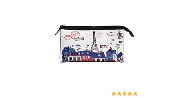 Derrière la porte DLP – Kit de maquillaje Bonjour París en azul para las mujeres niñas: Amazon.es: Equipaje