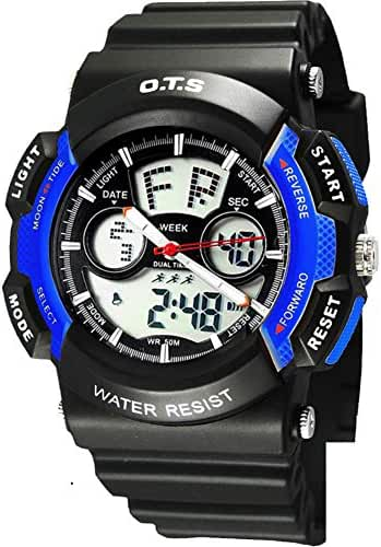 Youth outdoor sports watches/Fashion waterproof night electronic watch-G