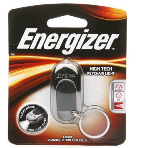 Energizer High Tech Led Keychain Light With 3 Modes