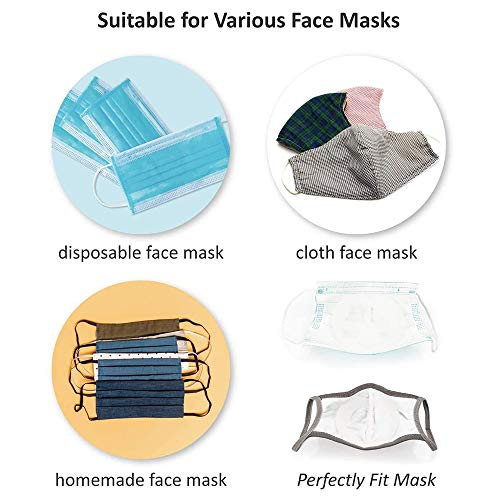 3D Mask Bracket - Face Mask Inner Support - Protect Lipstick Lips - Internal Support Holder Frame Nose Breathing smoothly - DIY Face Mask Accessories Washable Reusable