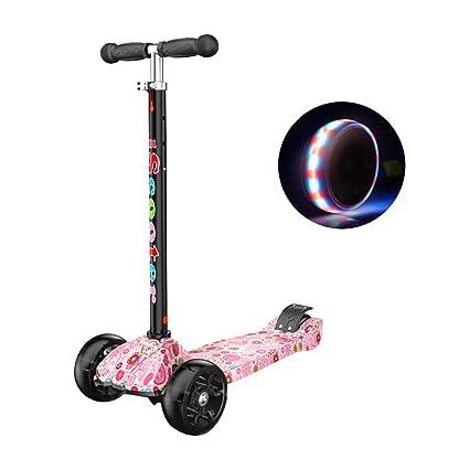 Patinetes clásicos Kids Kick Scooter con empuñadura Ajustable, Scooter para niños pequeños, Edad para